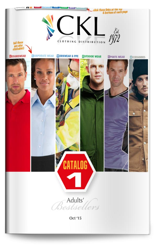 CKL Catalog 1 - Adults' Clothing BestSellers