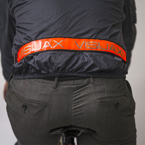 Visijax LED Sports Belt - in use