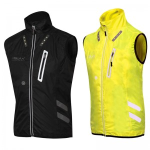 Gilet Lightweight, breathable, visible