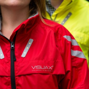 LED Hi-Vis 'Highlight' Cyclist Equestrian Outdoor Jacket