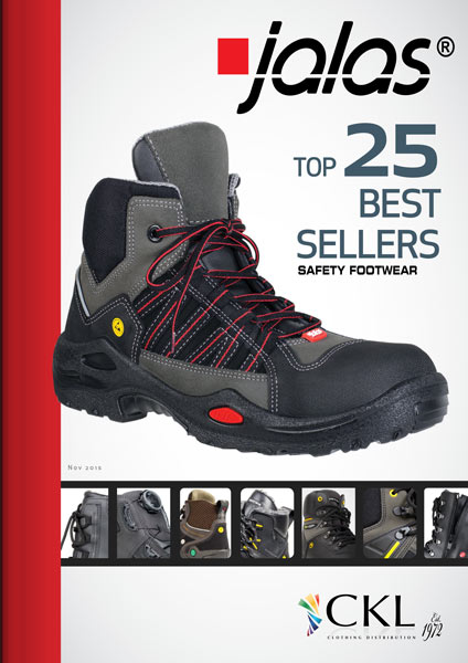 JALAS Safety Footwear & Workboots. Available from CKL Workwear Distribution