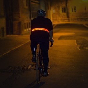 Visijax LED Sports Belt in action