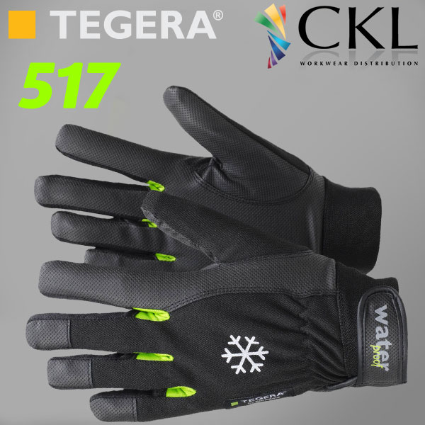 TEGERA®517 by Ejendals: Hi-Grip Water & Windproof Thermal Glove