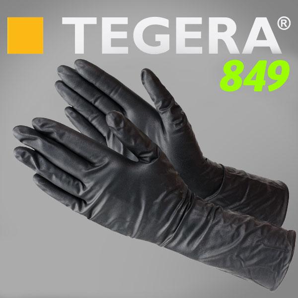 TEGERA®849 by Ejendals: Strong Black Nitrile Food (ESD, Chem./Splash)