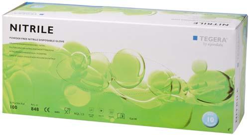 TEGERA® 848: Nitrile Food (Chem. Splash Latex/Acc.-Free) Gloves