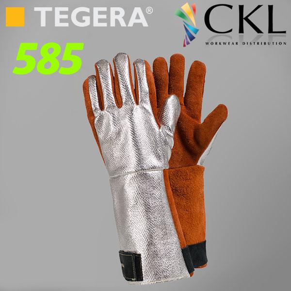 TEGERA®585: Cut3 250ºC Heat-Protection FOUNDRY Gloves