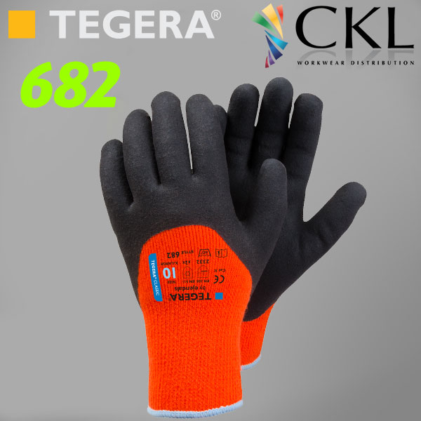 TEGERA®682: Superb Value Thick Latex Grip Gloves