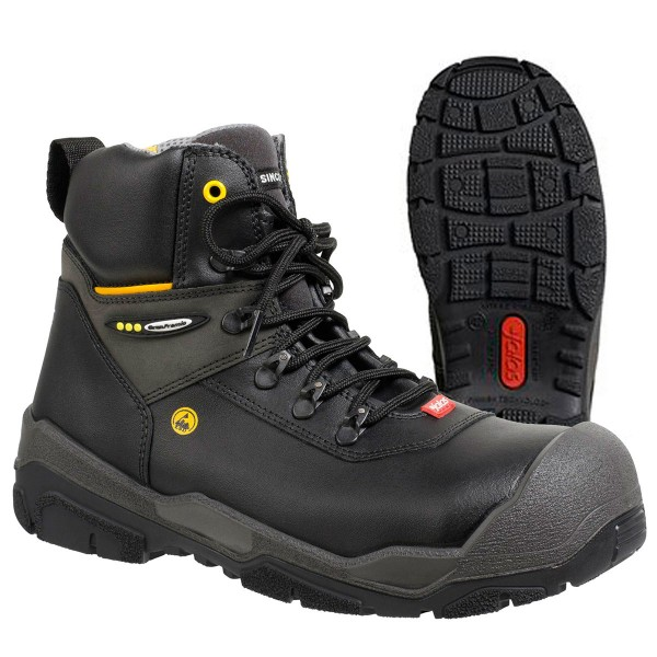 """JALAS® 1828 by Ejendals: """"JUPITER"""" - Light, Durable, Comfortable Heavy Duty S3 Work Boot"""