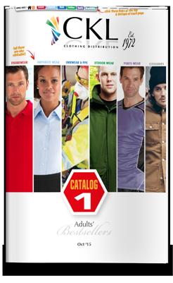 CKL Catalog 1 - Adults' Clothing BestSellers