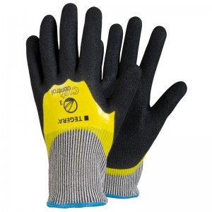 TEGERA®783 by Ejendals: Scandinavian Quality Durable & Ergonomic Cut-3 Double-Dipped Nitrile Glove