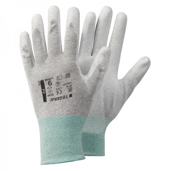 TEGERA®811: PU-Palm ESD Gloves