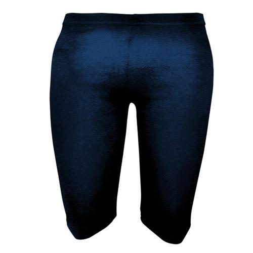 Girls' & Ladies' Stretch Cotton Dancing Shorts - DSTG01C-black