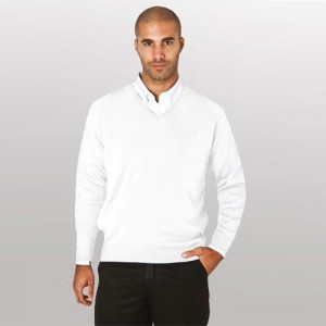 Bowling V-Neck Jumper (100% High Bulk Acrylic)