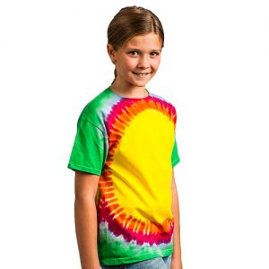 Kids' & Adults' Rainbow Sunburst T-TD006B