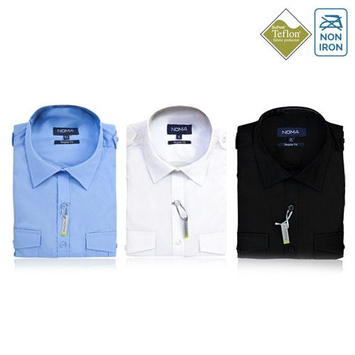 NSHA04-Noma Men's Pilot Shirt S/S-ALL