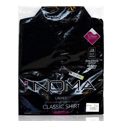 NSHL02-Noma Ladies Classic Shirt S/S-black-pck