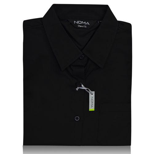 NSHL02-Noma Ladies Classic Shirt S/S-black