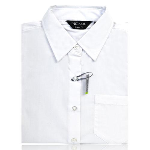 NSHL02-Noma Ladies Classic Shirt S/S-white