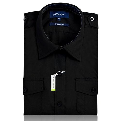NSHL03-Noma Ladies Classic Shirt L/S-black