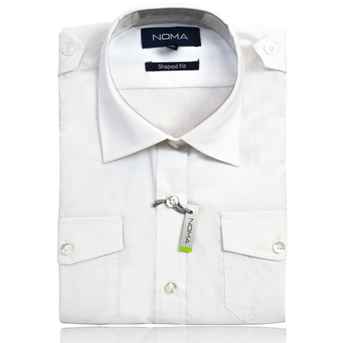 NSHL03-Noma Ladies Classic Shirt L/S-white