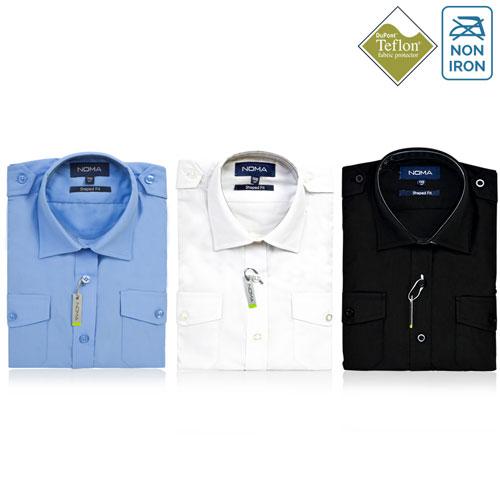 NSHL04-Noma Ladies Pilot Shirt S/S-ALL