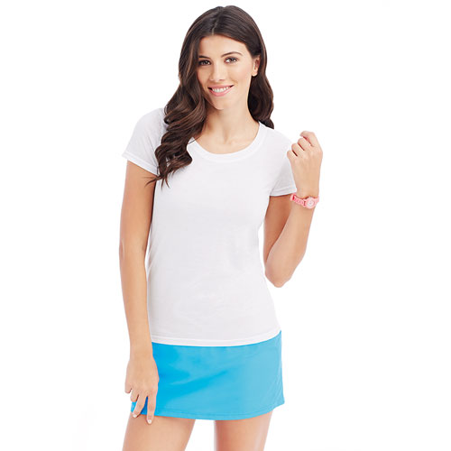 ST8700-160g 100% Polyester Ladies' 'ACTIVE' Cotton-Touch Sports T