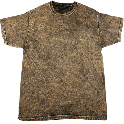 175g Mineral Wash T-TD003-brown