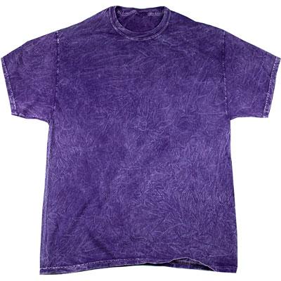 175g Mineral Wash T-TD003-purple
