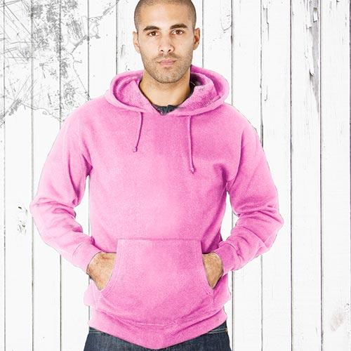 Adults 70/30CP Hooded Raglan Sweats-TSA04B-light-pink