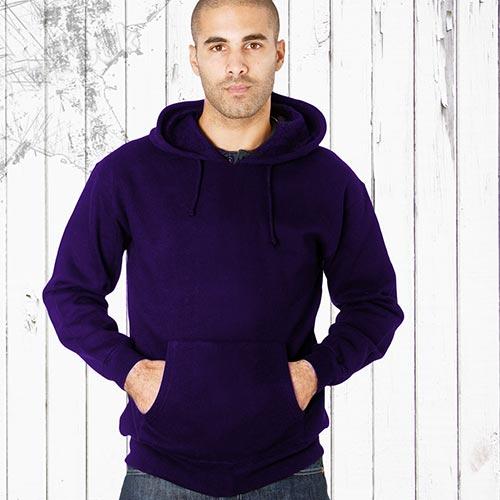 Adults 70/30CP Hooded Raglan Sweats-TSA04B-purple