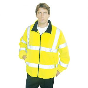 Hi-Vis Mesh Lined Fleece-WFA300-main
