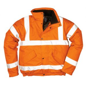 190g Hi-Vis Bomber Waterproof Jacket GO/RT - WJAA32R