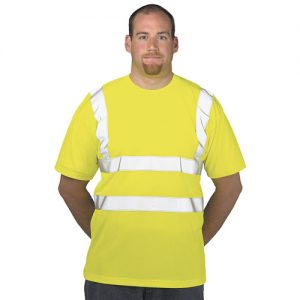 Hi Vis T-Shirt-WTSA478-yellow