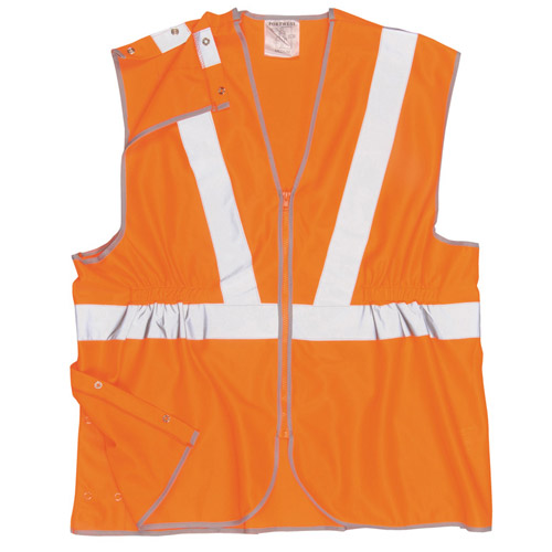 Hi Vis Long Vest, GO/RT-WWCA20-orange