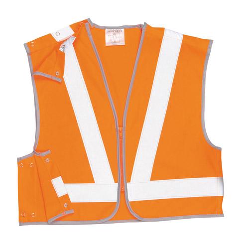 Hi Vis Short Vest, GO/RT-WWCA21-orange