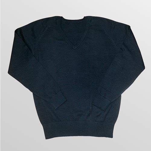 Cotton Mix V-Neck Knitted Jumper - CJUK05