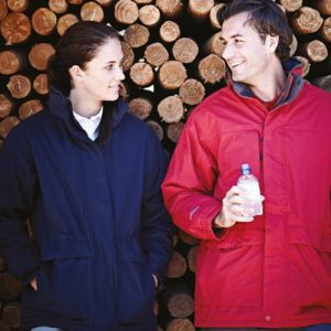 Ladies' 'Darby II' Peached Waterproof Windproof Jacket - RJAL355