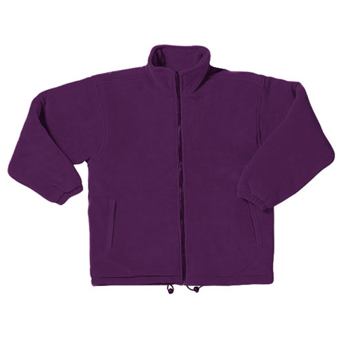 'Gold Label' Premium Padded Polar Fleece - TFA03-purple