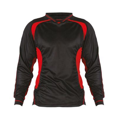 Kids Football Kit - TFKK01-black-red