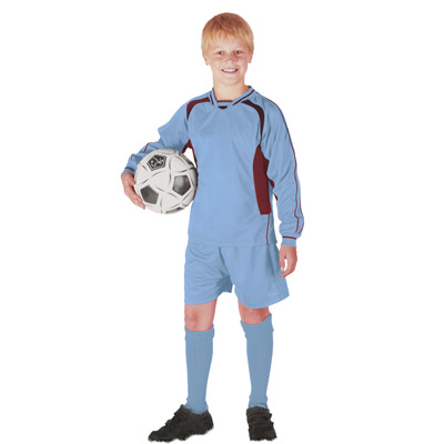 Kids Football Kit - TFKK01-sky