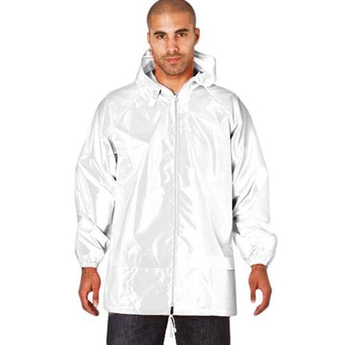 Pack-Away Showerproof Kagoul - TJAA03 - white