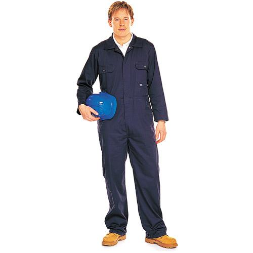 Stud-Front Boiler Suit - WBSA344