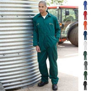 Redhawk Zip Front Coverall - WBSA4839