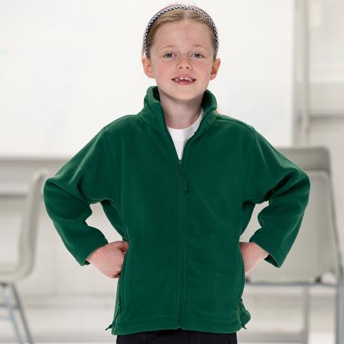 Kids Heavy Full Zip Outdoor Fleece - JFK870