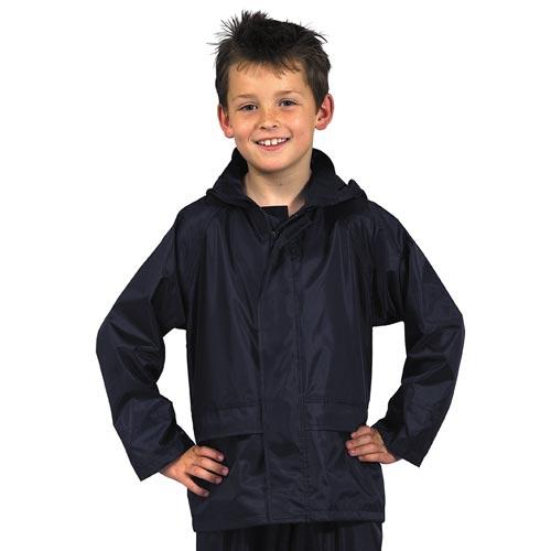 Junior Waterproof Rain Jacket-OJAK11