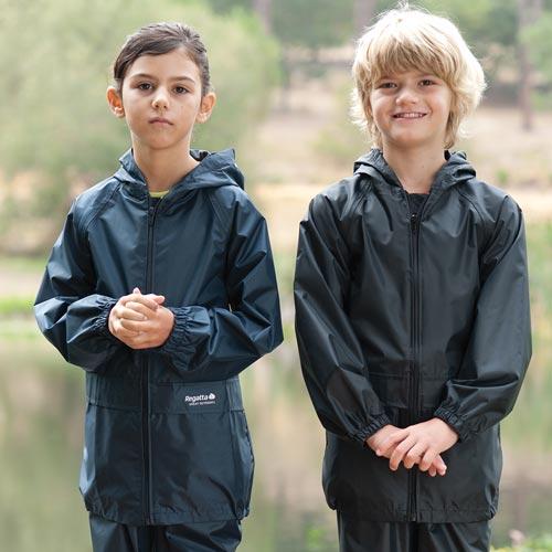 Kids Stormbreak Waterproof Jacket-RJAK908