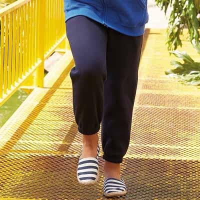 KIDS Classic Elasticated Cuff Jog Pants-SJK-64-051