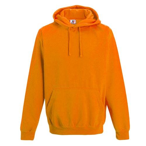 Kids Illuminous Hooded Raglan Sweatshirt - TSK08-orange