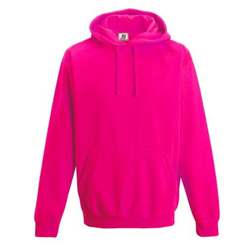 Kids Illuminous Hooded Raglan Sweatshirt - TSK08-pink