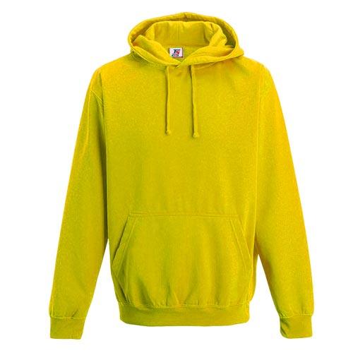 Kids Illuminous Hooded Raglan Sweatshirt - TSK08-yellow